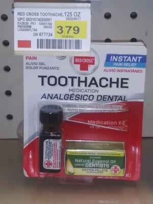 Cash Saver: Red Cross TootheAche Medication Kit