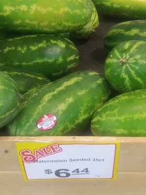 Cash Saver: Seeded Watermelons