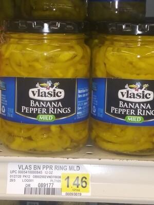 Cash Saver: Vlasic Banana Pepper Rings Mild 12oz