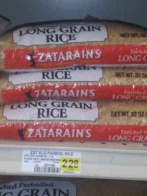 Cash Saver: Zatarain's Enriched Parboiled Long Grain Rice 2lb, 5lb bags