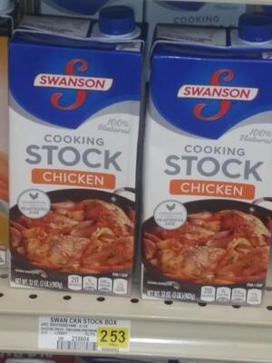 Cash Saver: Swanson Cooking Stock Chicken 32oz