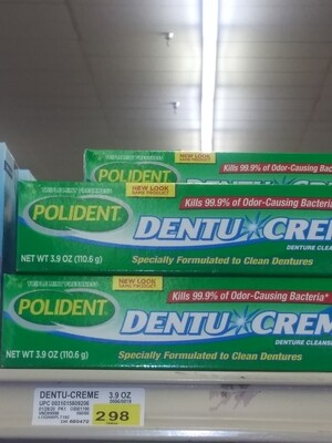Cash Savers: Polident Denture Creme 3.9oz