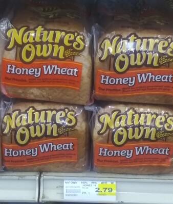Cash Saver: Nature's Own Honey Wheat Bread