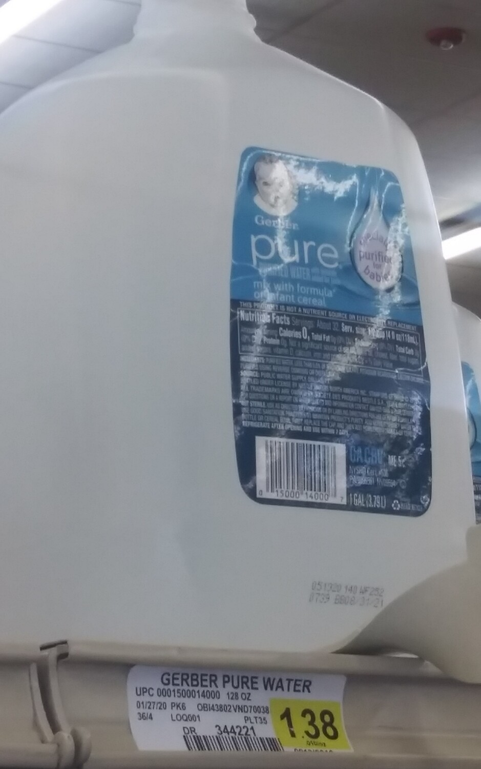 Cash Saver: Gerber Pure Water