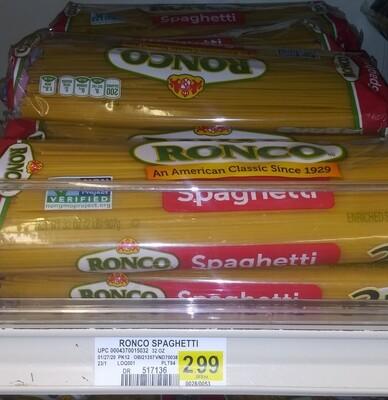 Cash Saver: Ronco Spaghetti 32oz
