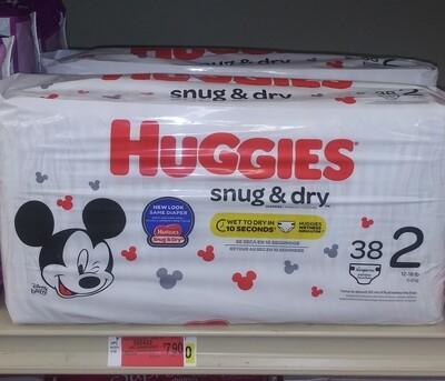 Cash Savers: Huggies Snug&Dry 38 Diapers