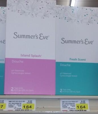Cash Saver: Summer's Eve Douche 2units