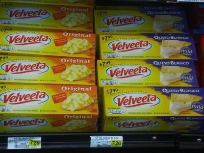 Cash Saver: Velveeta Cheese (Original, Queso Blanco) 32oz
