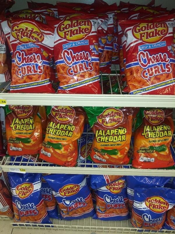 Cash Saver: Golden Flakes Chips