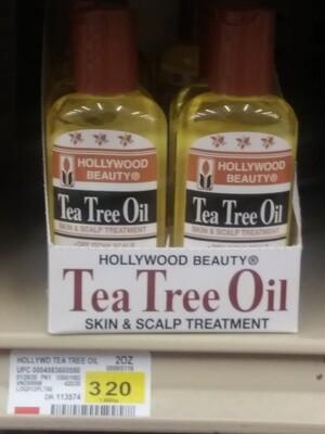 Cash Saver: Hollywood Beauty Tea Tree Oil