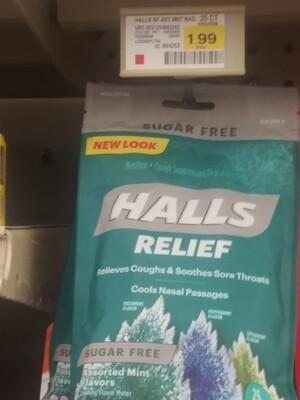Cash Saver: Halls Relief