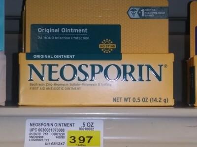 Cash Saver: Neosporin Original Ointment 5oz