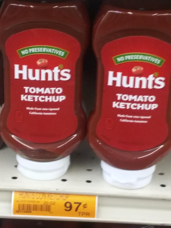 Cash Saver: Hunt's Tomato Ketchup