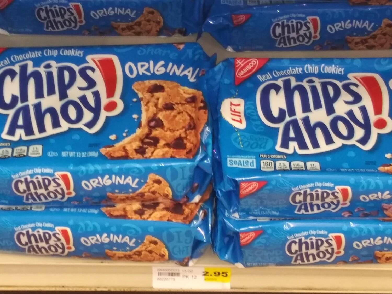 Cash Saver: Chips Ahoy Cookies