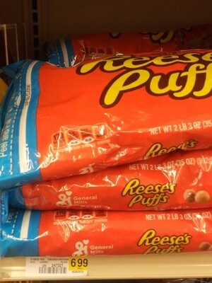 Cash Saver: Reese's Puffs Cereal 2lb