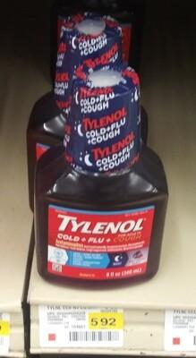 Cash Saver: Tylenol Cold+Flu+Cough 8fl oz