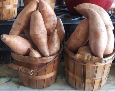 Farmers Market: Sweet Potatoes