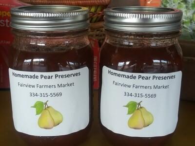 Farmers Market: Homemade Pear Preserves