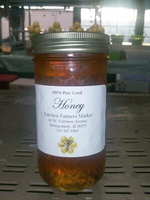 Farmers Market: 100% Pure Local Honey