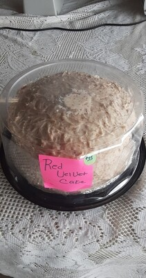Farmers Market: Red Velvet Cake