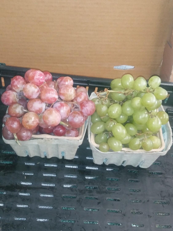 Farmers Market: Seedless Grapes
