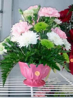Farmers Market: Betty's Small Bouquet Of Fresh Flowers
