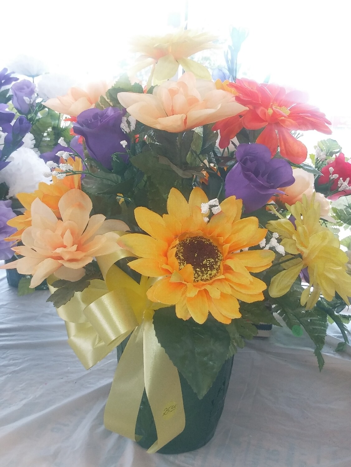 Farmers Market: Betty's Artificial Flowers