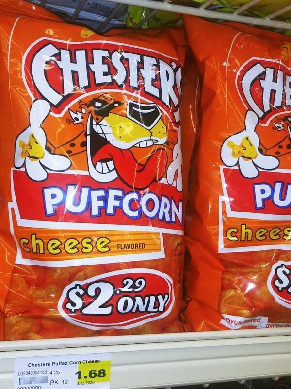 Cash Saver: Chester's Cheese Puffcorn