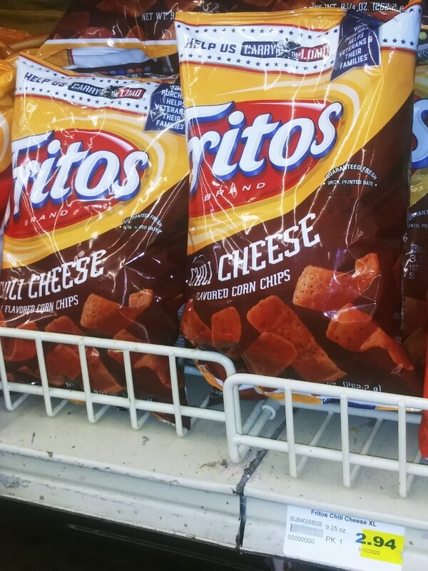 Cash Saver: Fritos Chilli Cheese Corn Chips