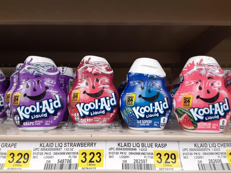 Cash Saver: Liquid Kool-aid