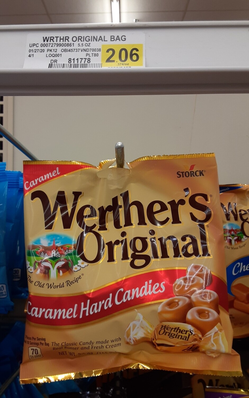 Cash Saver: Werther's Original Carmal Hard Candies 5.5oz