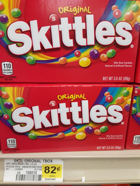 Cash Saver: Original Skittles Candy 3.5oz
