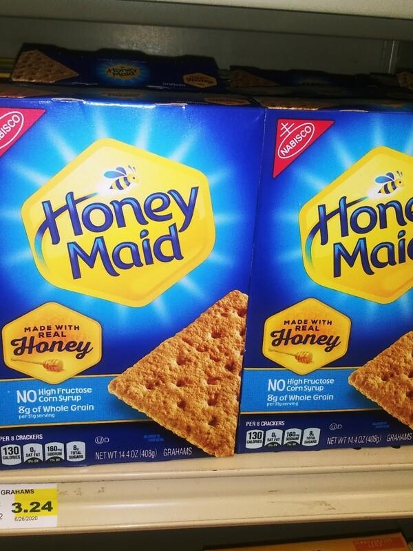 Cash Saver: Nabisco Honey Maid Graham Crackers 14.4 oz