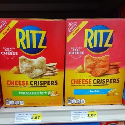 Cash Saver: Ritz Cheese Crispers 7oz