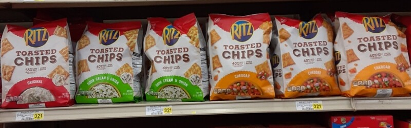 Cash Saver: Ritz Toasted Chips 8.1oz
