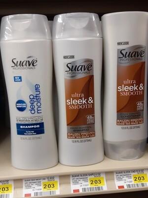 Cash Saver: Suave Shampoo 12.6oz