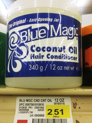 Cash Saver: Blue Magic Hair Coconut Oil