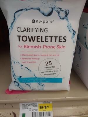 Cash Saver: Nupore Makeup Remover Towelettes 25ct