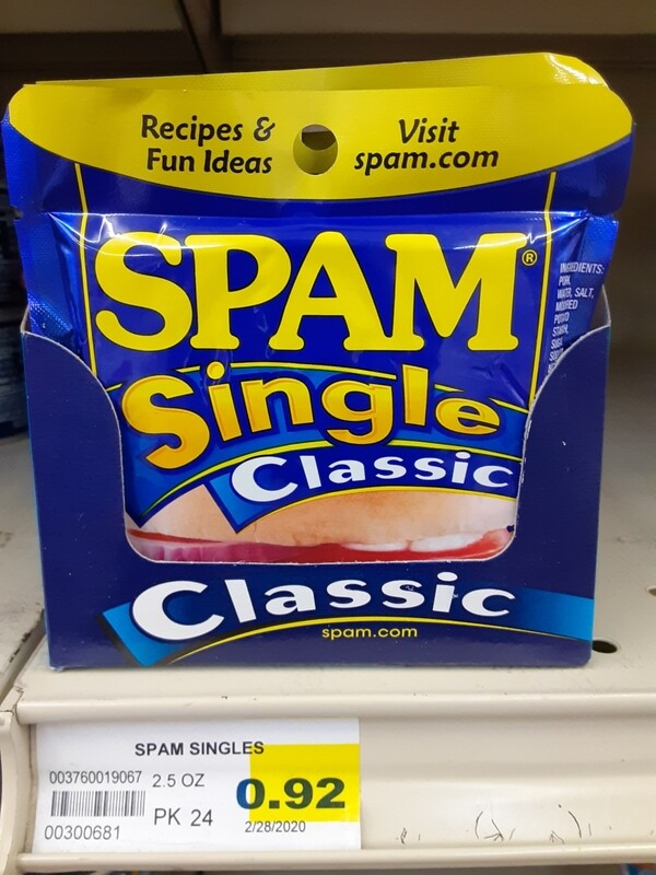 Cash Saver: Spam Single Classic