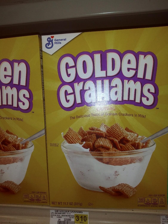 Cash Saver: General Mills Golden Graham Cereal 11.7oz