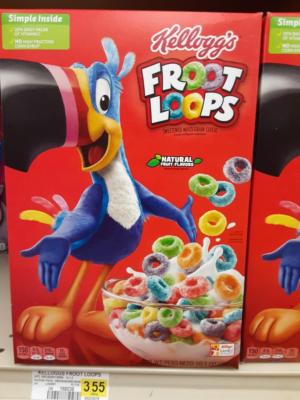 Cash Saver: Kellogg's Froot Loops Cereal