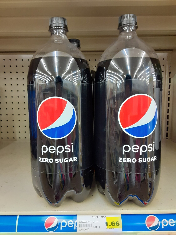 Pepsi Zero Sugar 2 Liter