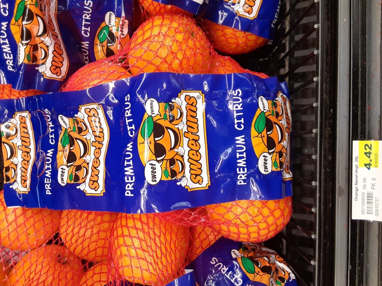 Cash Saver: Sweetumes Premium Citrus Oranges 3lb