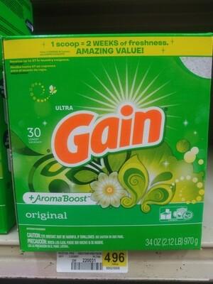 Cash Saver: Gain Aroma Boost 30 Loads