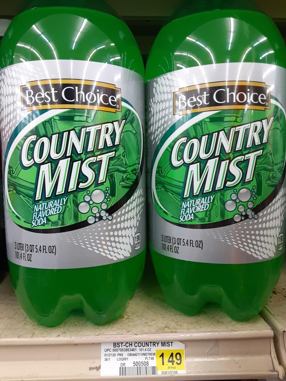 Cash Saver: Country Mist 3 Liter