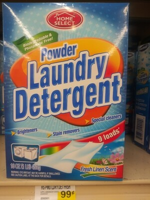 Cash Saver: Home Select Laundry Detergent