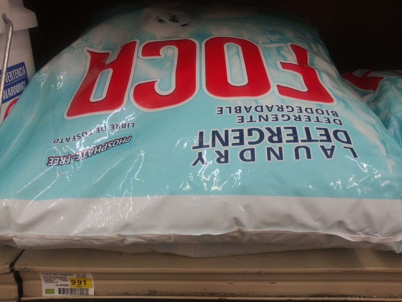 Cash Saver: Foca Laundry Detergent 11.02lb Bag
