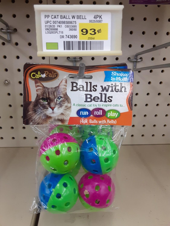 Cash Saver: Cat Pals Balls With Bells