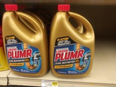 Cash Saver: Liquid Plumr 80floz