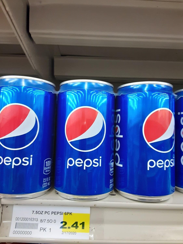 Cash Saver: Pepsi 6pk Cans